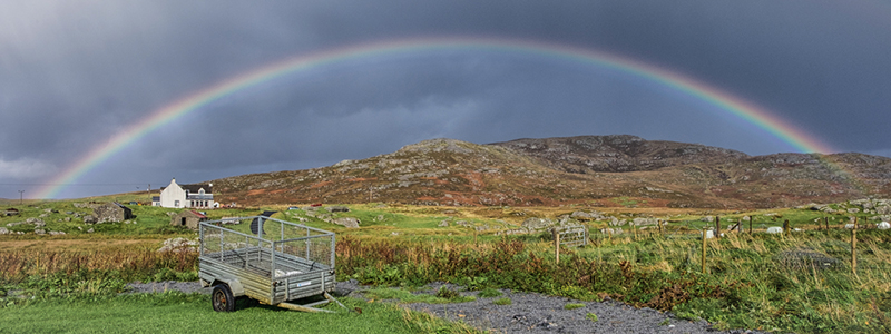 Rainbow South Uist