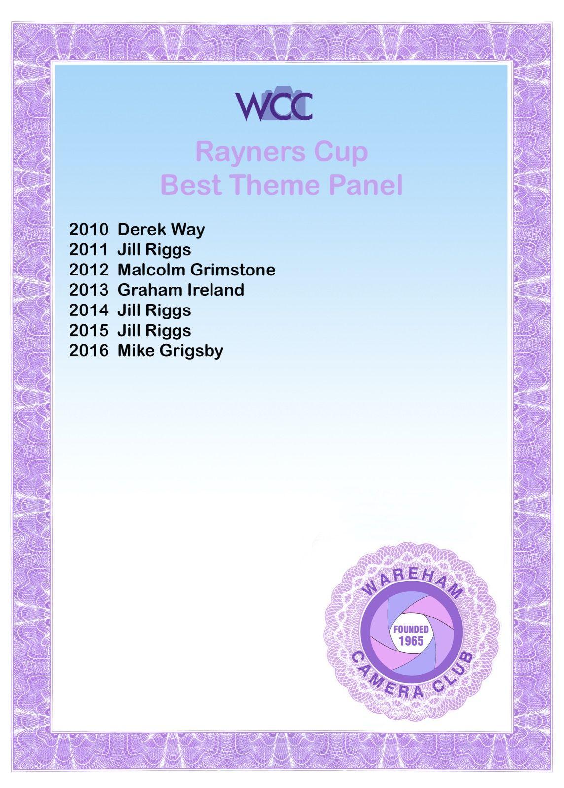 Rayners Cup