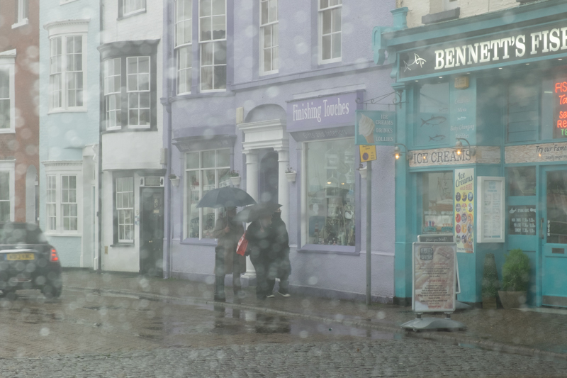 Weymouth in the Rain