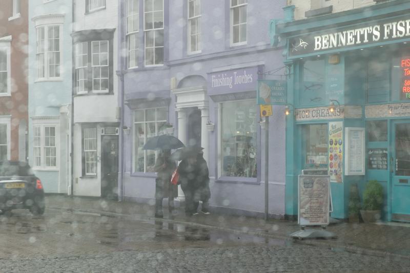 Weymouth in the Rain