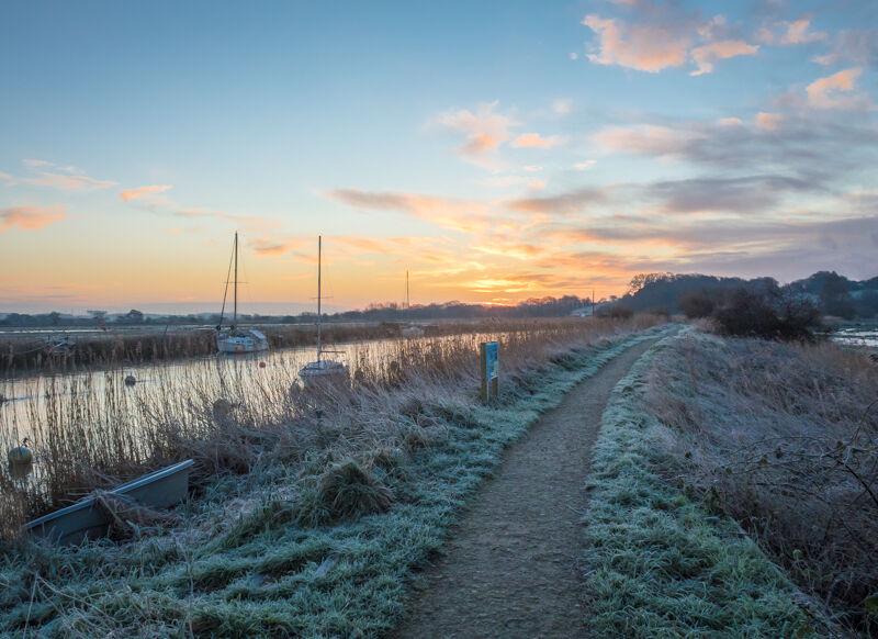 Wintry dawn