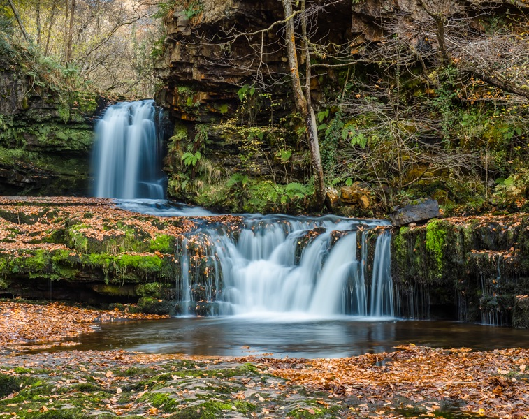 brecon beacons waterfalls by mary bevis