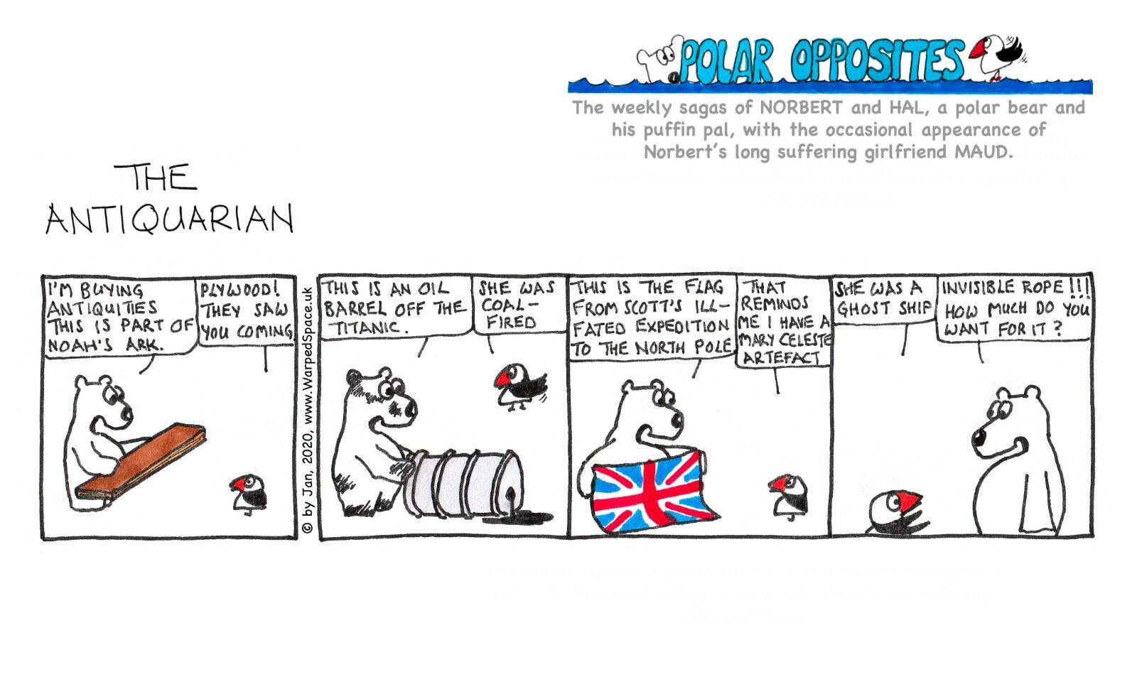 Week 24 - Antiquarian