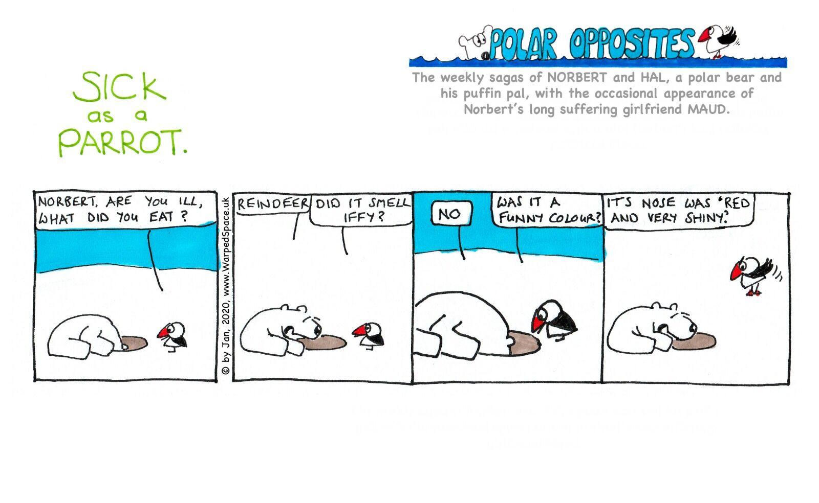 Week 53 - Sick as a Parrot