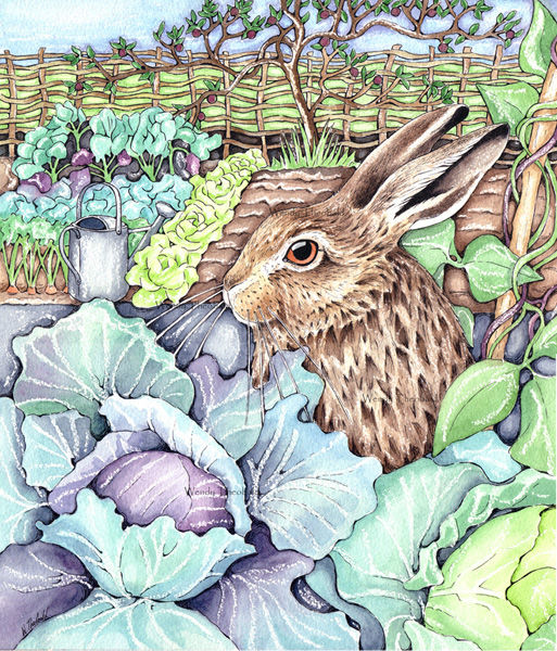 Leveret in Kitchen Garden