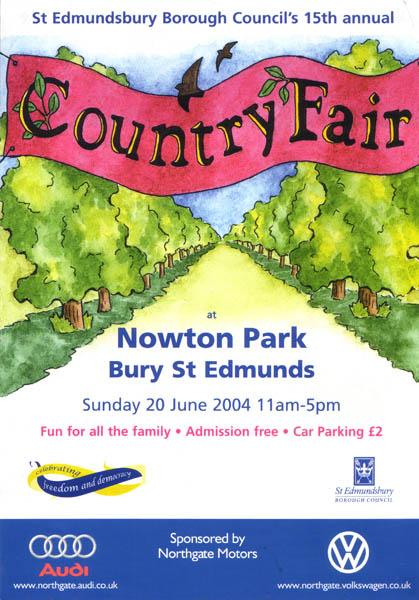 Country Fair leaflet