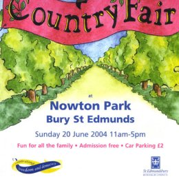 Country Fair leaflet