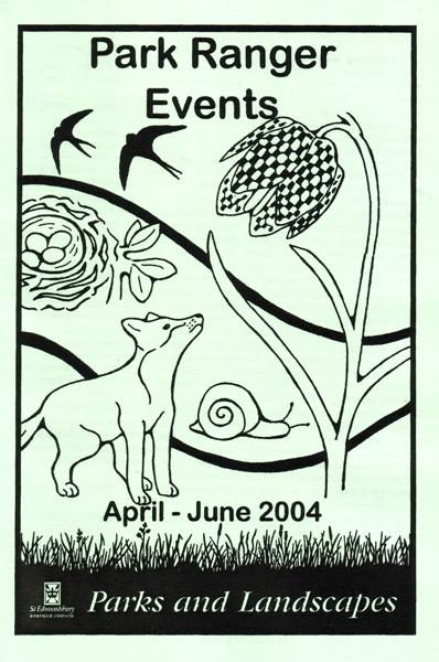 Park Ranger Events leaflet