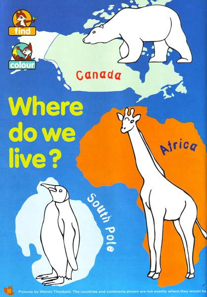 Where do we live, page 1