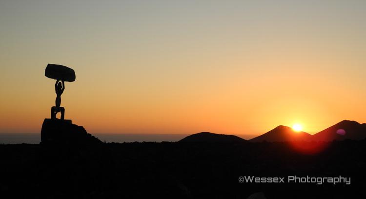 Timanfaya Sunset