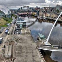 2016.10.20 - Gateshead & Newcastle Panorama