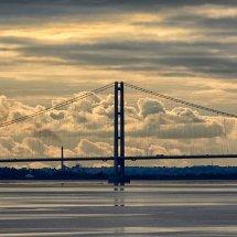 2017.10.08 - Humber Bridge At Sundown