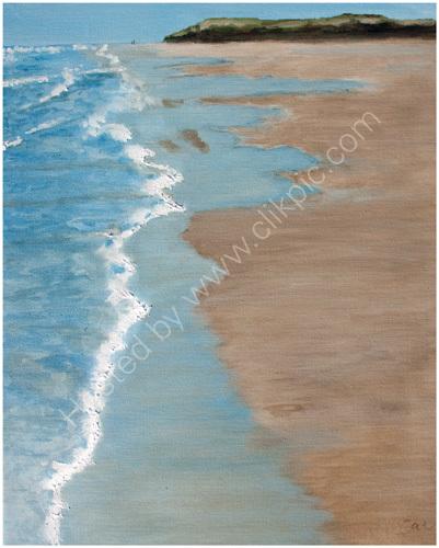 A-Walk-on-Bamburgh-Beach