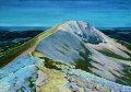 Ceann Garbh and Ganu Mor looking NW along the Foinne Bheinn (Foinaven) Ridge,(SOLD)