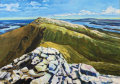 Kyle of Durness and Loch Eriboll seen from Grann Stacach (Cranstakie),