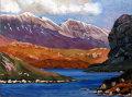 West flank of the Foinne Bheinn (Foinaven) Ridge from Loch na Claise Carnaich, east of Rhiconich.