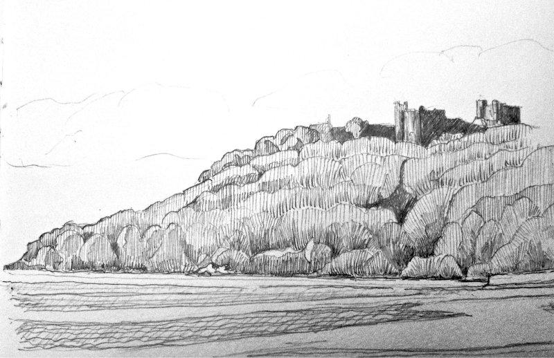 Llansteffen Castle 1.