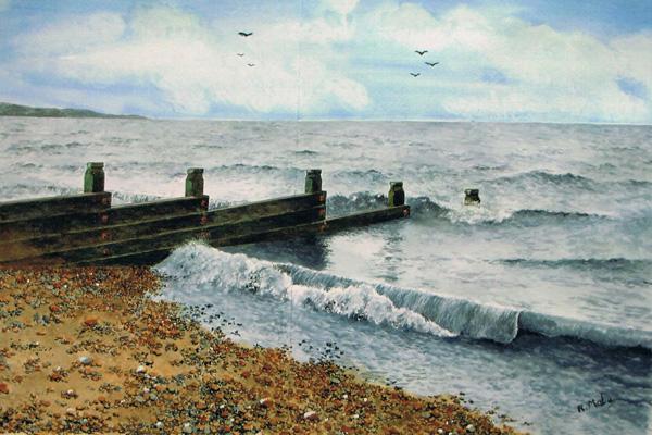Whitstable beach, Bob Male