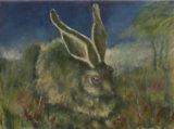 Hare at Woodland Edge, Linda Farrington