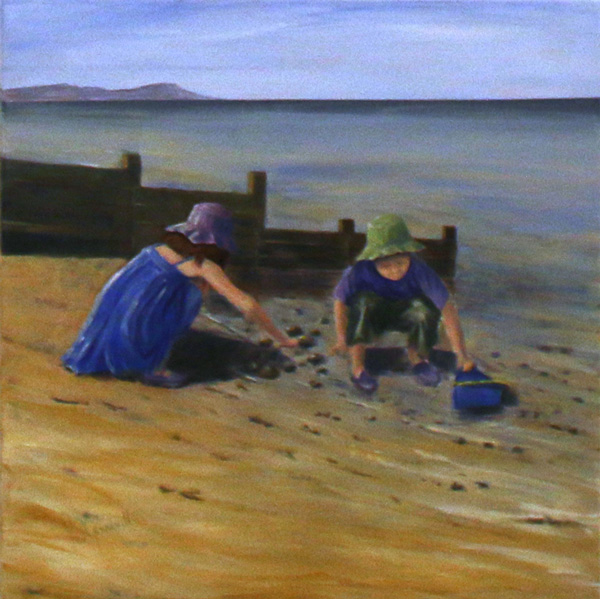 On the Beach, Yvonne Gambrill