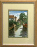 River Stour near Westgate Towers, Robert Male