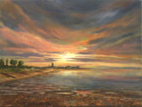 Whitstable Sunset, Wendy Mills