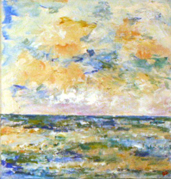 A Moment in Time at Sea, Barbara Drinkwater
