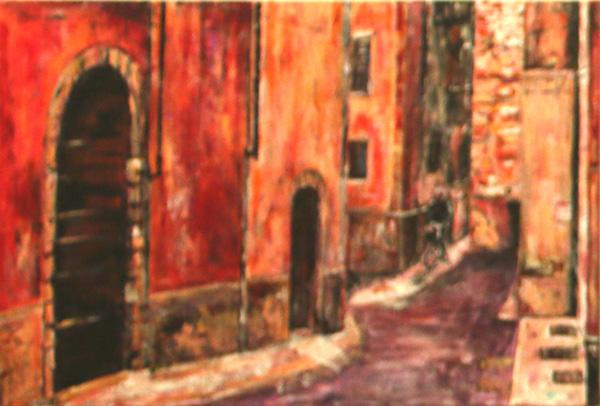 A Street in Verona, Barbara Drinkwater