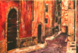 A Street in Verona, Barbara Drinkwater