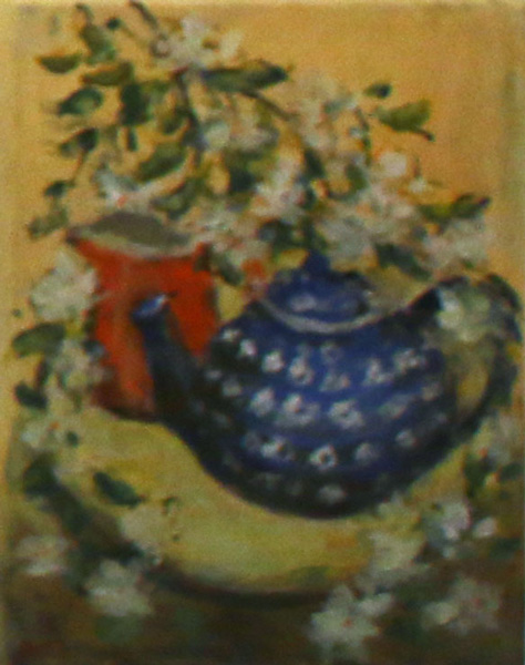 Blue Teapot, Daphne Ottaway