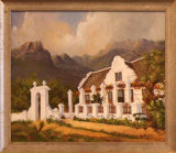 Cape Dutch House - Wendy Mills