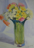 Flowers in a vase, Christine Conway