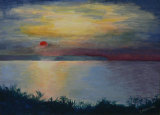 Sunset over Sheppey Christine Conway