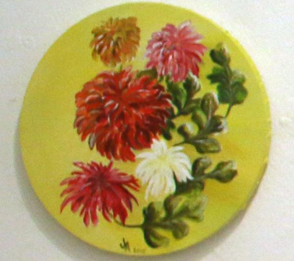 Chrysanthemums, Jill Akhurst