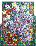 Clematis and Garden Flowers, Barbara Drinkwater