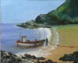 Coastal Scene, Muriel Haseltine