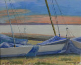 Beached yachts - Christine Conway