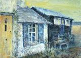 Cottages, Island Wall, Linda Farrington