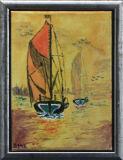 Barge Race, Dorothy Spittles
