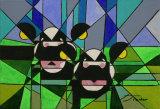 Cubist Cows, Julia Parker