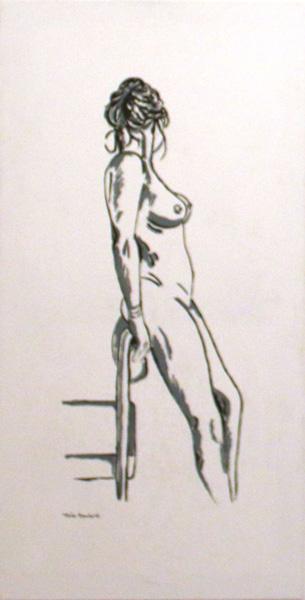 Lady Standing, Tina Rowland
