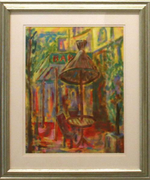Le Grand Café, Alan Saunders