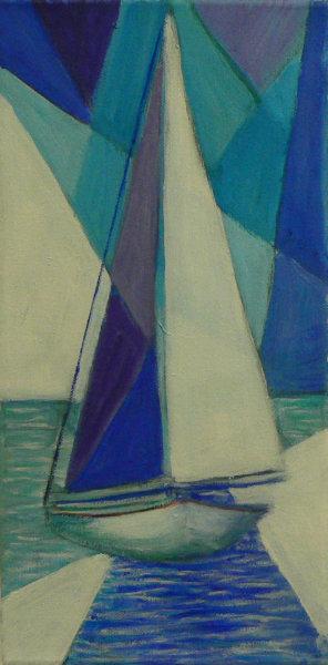 Sail Boats 2 Linda Darios