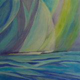 Sail Boats 1 Linda Darios