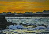 Sunset over Mossel Bay, Linda Darios