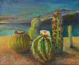 Cacti in Lanzarote, Linda Farrington