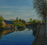 Canal at Black Country Museum. Linda Ledbrook