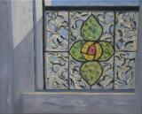 The studio window - Ruth Lucchini