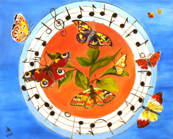 Musical Butterflies, Jill Akhurst