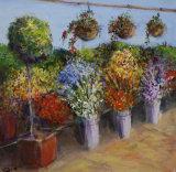Flower stall - Daphne Ottoway